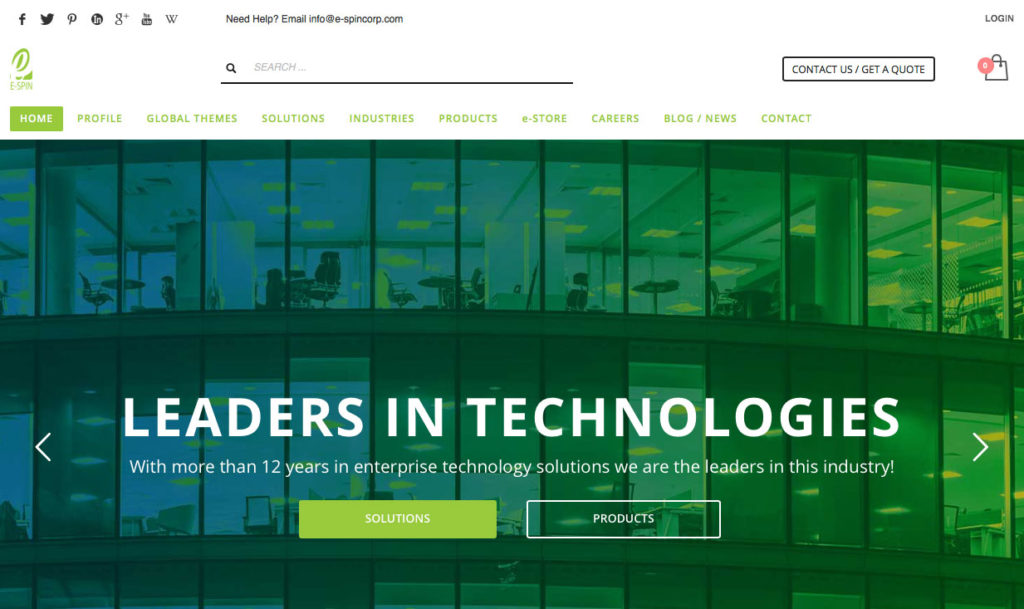 Launch of new website platform for better user experience serving